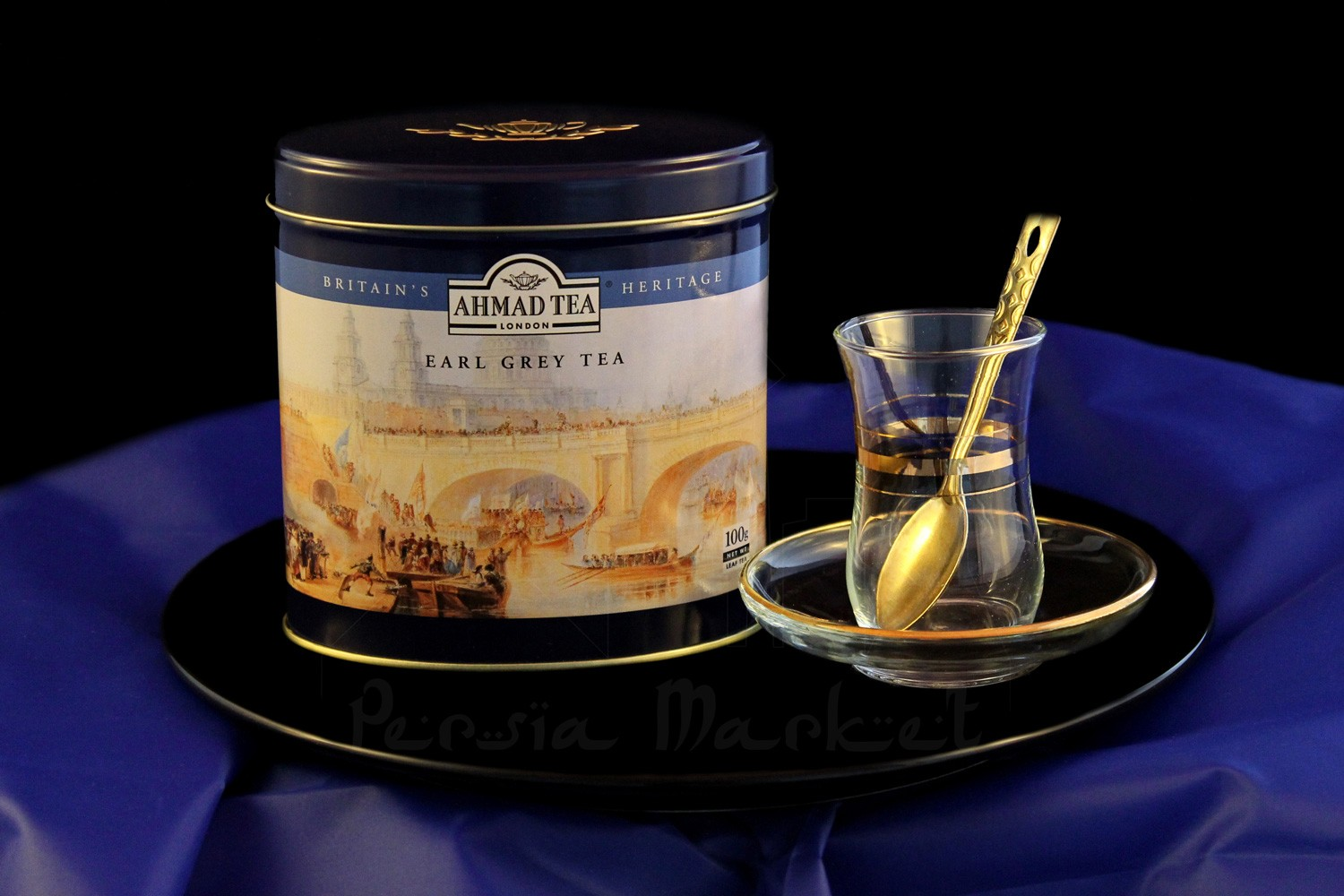 Ahmad Tea Caddy Earl Grey