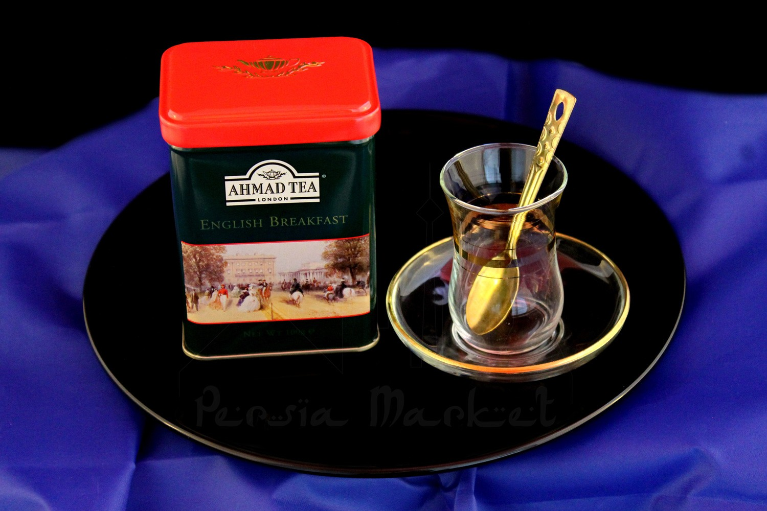 Ahmad Tea Caddy English Breakfast