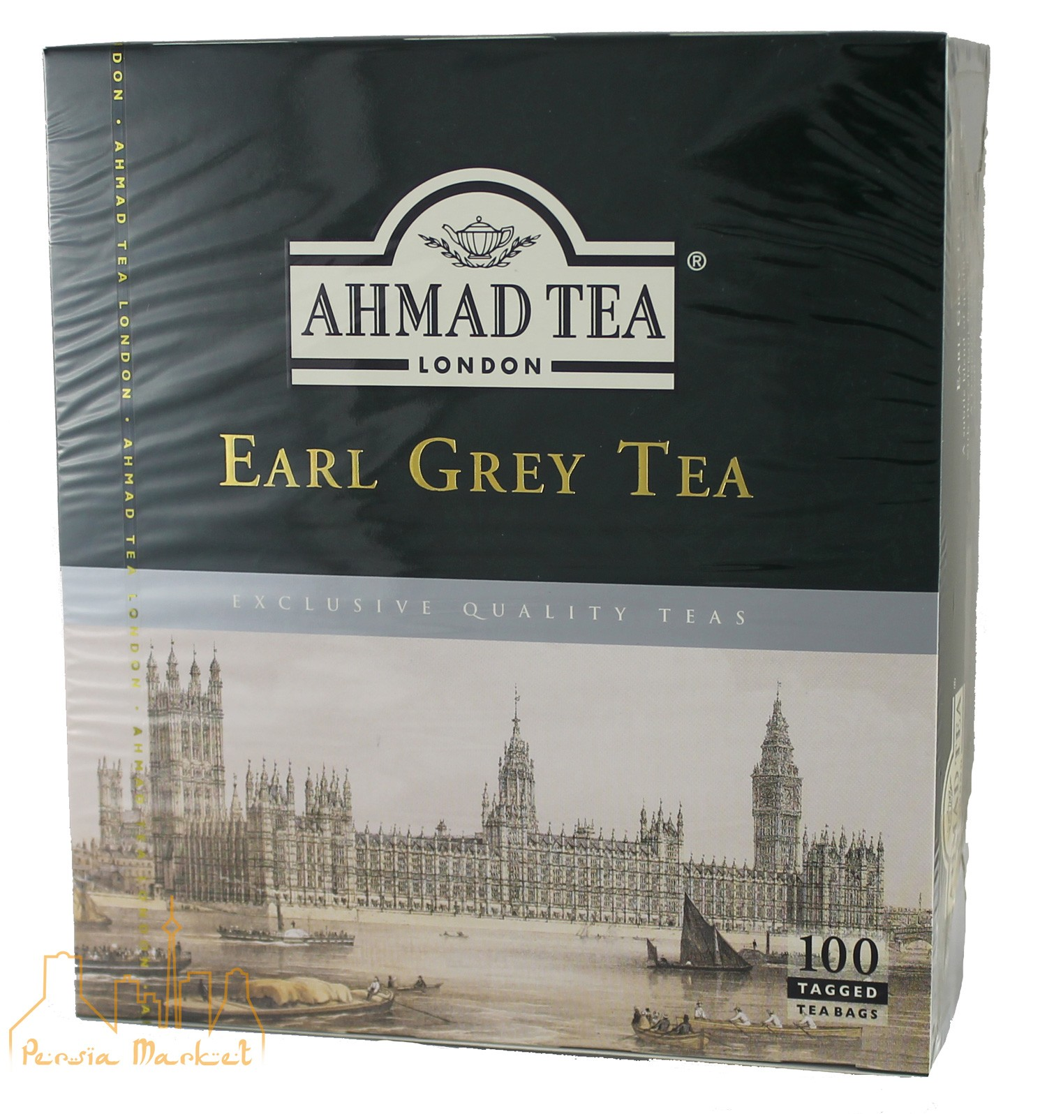 Ahmad Tea- Aromatic Earl Grey - 100 teabags