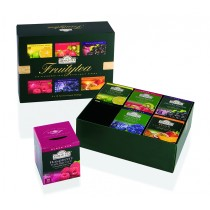 Ahmad Tea - Fruitytea - six flavoured teas with fruit pieces - 6x10 Foil Enveloped Teabags