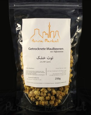 Dried White Mulberries from Afghanistan